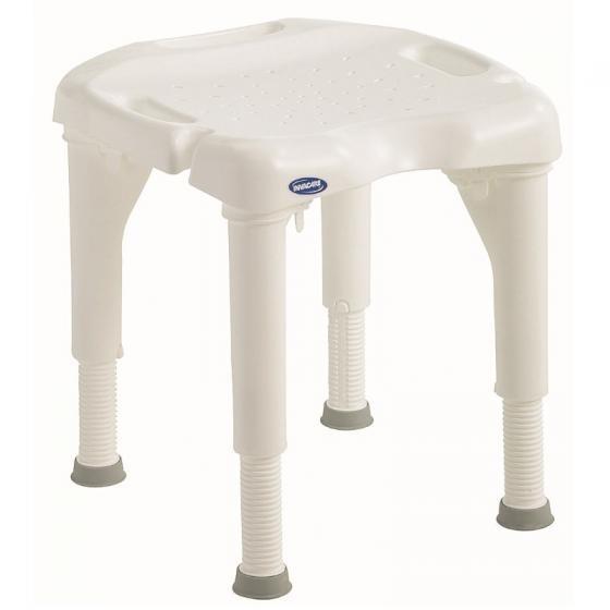 Chaise de douche sans dossier Invacare