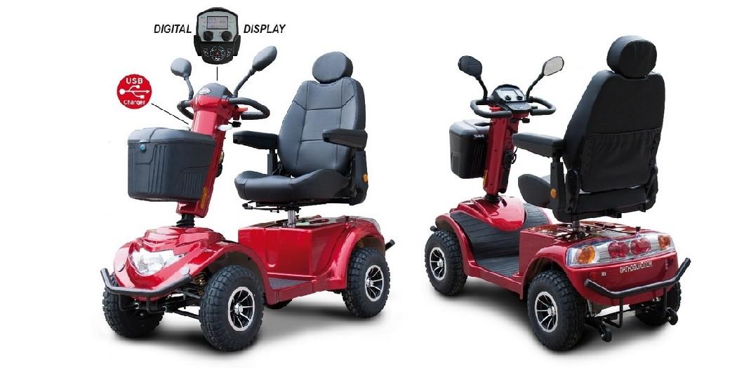 Quadriporteur RZ 1200-rouge