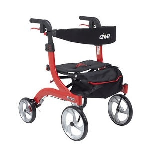 Ambulateur Nitro rouge Hemi 18""