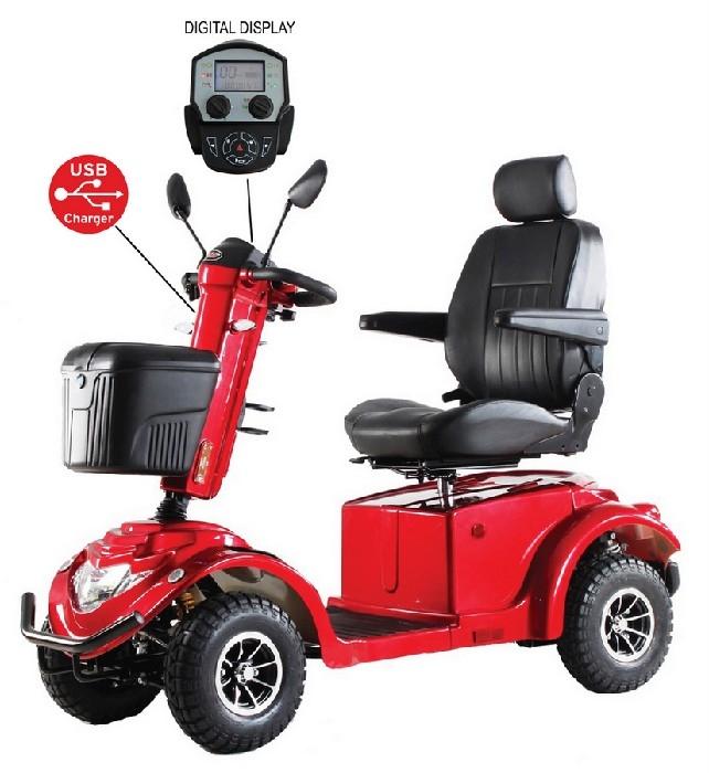 Quadriporteur RZ1500 rouge