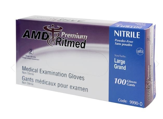 Gant nitrile S/P Stretch (XL) bte/100 AMD