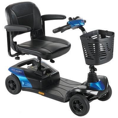 Quadriporteur Colibri 4 roues 12 AH Bleu