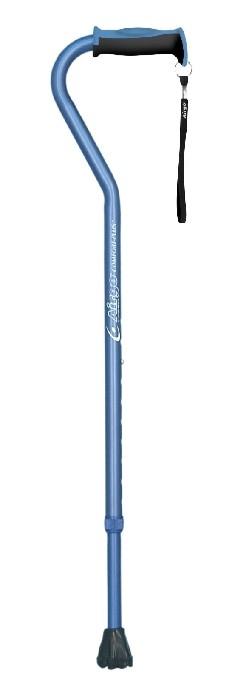 Canne Airgo ajustable bleu