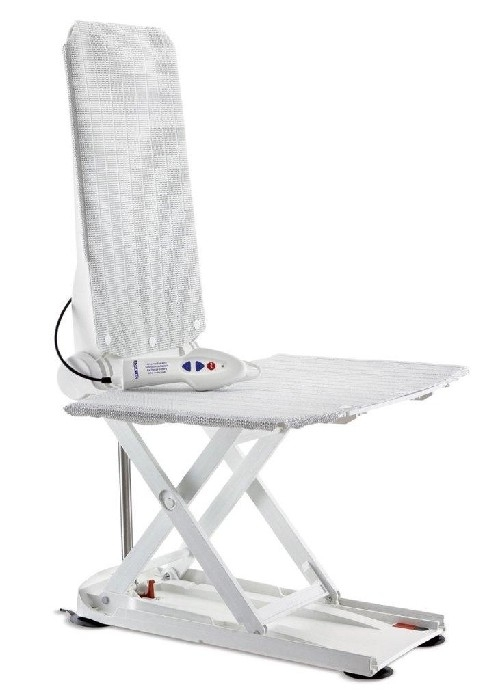 Aquatec R -levier de bain inclinable -blanc