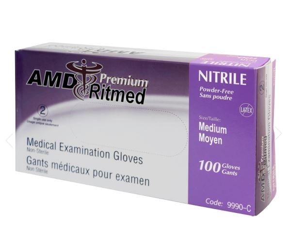 Gant nitrile S/P Stretch (M) bte/100 AMD