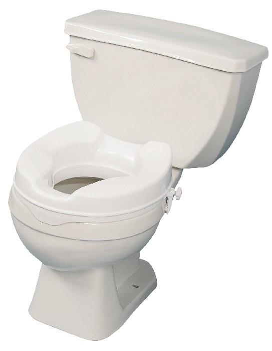 """Siège de toilette surélevé 4"""" AMG"""