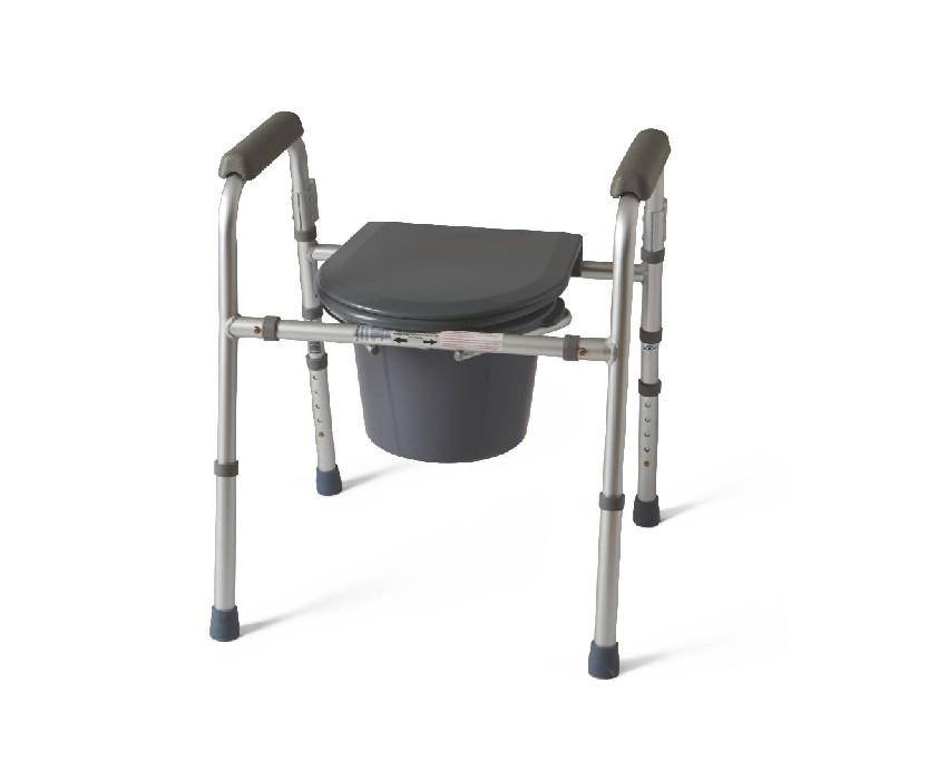 Chaise d'aisance cadre pliant capacité 250 lbs Guardian
