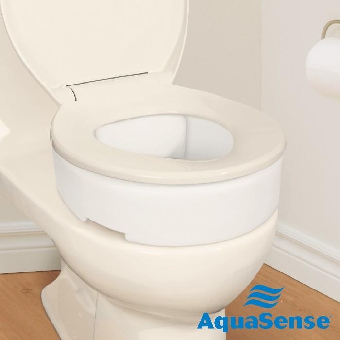 """Siège de toilette avec charnière (allongée) 3.5"""""""