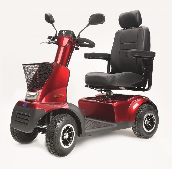 Quadriporteur Afiscooter C+ Rouge