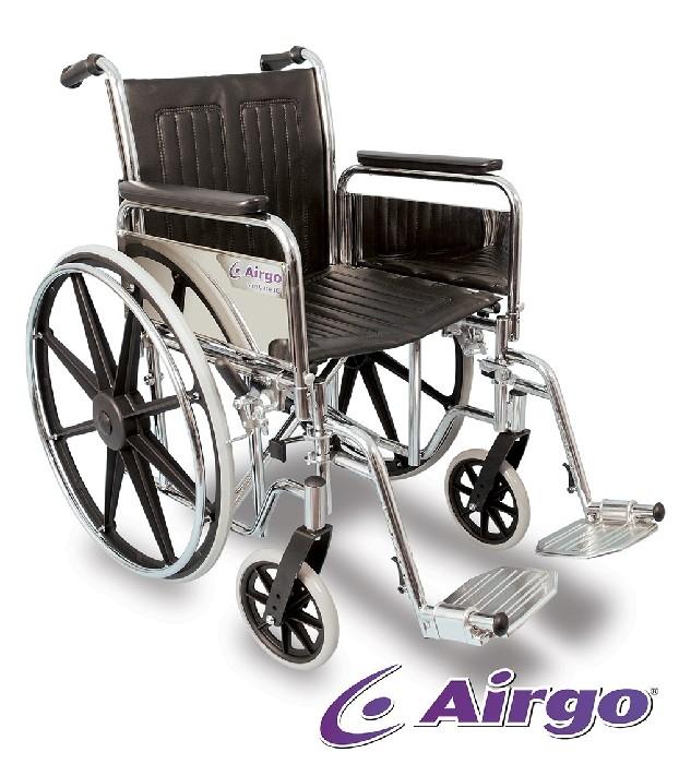 """Fauteuil de transport léger Comfort-Plus Airgo  siège 17"""""""