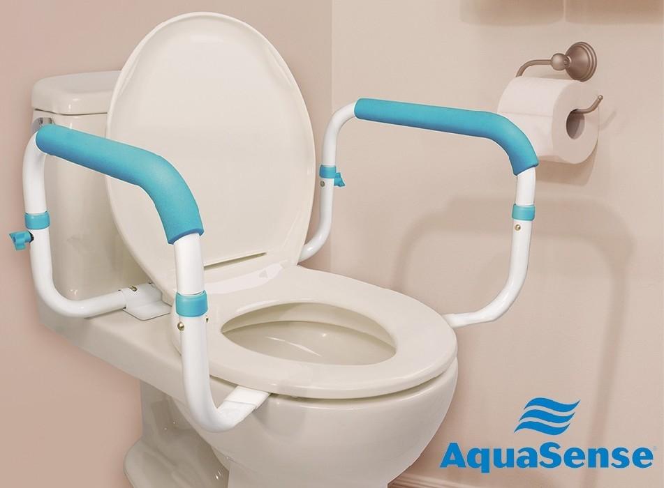 Barre d'appui pour toilette AquaSense